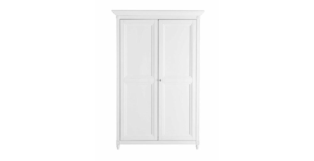 Lille White Ladies Wardrobe